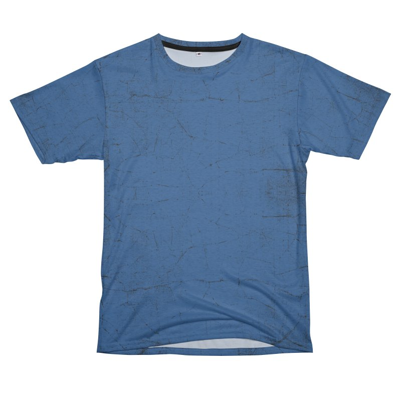 Pure Blue Women's Unisex French Terry T-Shirt Cut & Sew by bulo