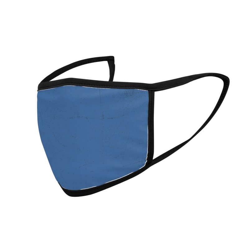 Pure Blue Accessories Face Mask by bulo