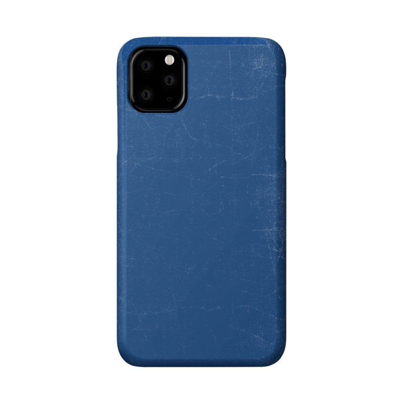 Pure Blue Accessories Phone Case by bulo