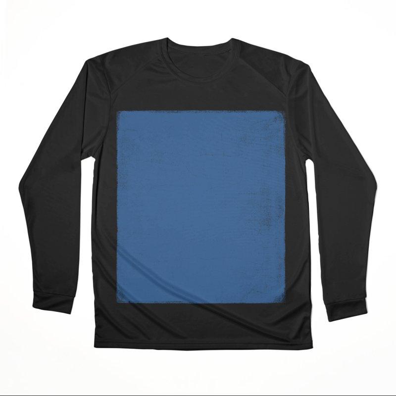 Pure Blue Men's Performance Longsleeve T-Shirt by bulo