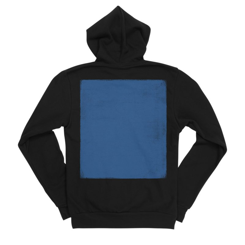 Pure Blue Women's Sponge Fleece Zip-Up Hoody by bulo