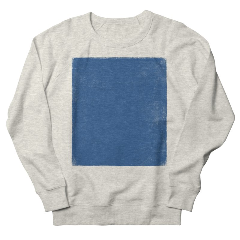 Pure Blue Men's French Terry Sweatshirt by bulo