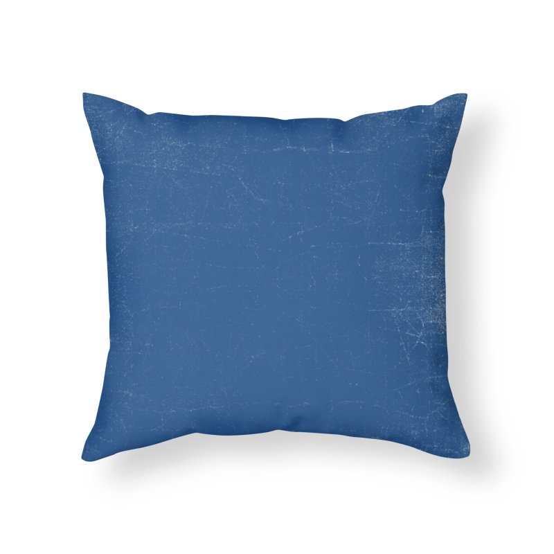 Pure Blue Home Throw Pillow by bulo