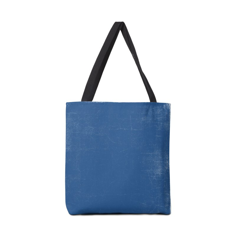 Pure Blue Accessories Tote Bag Bag by bulo