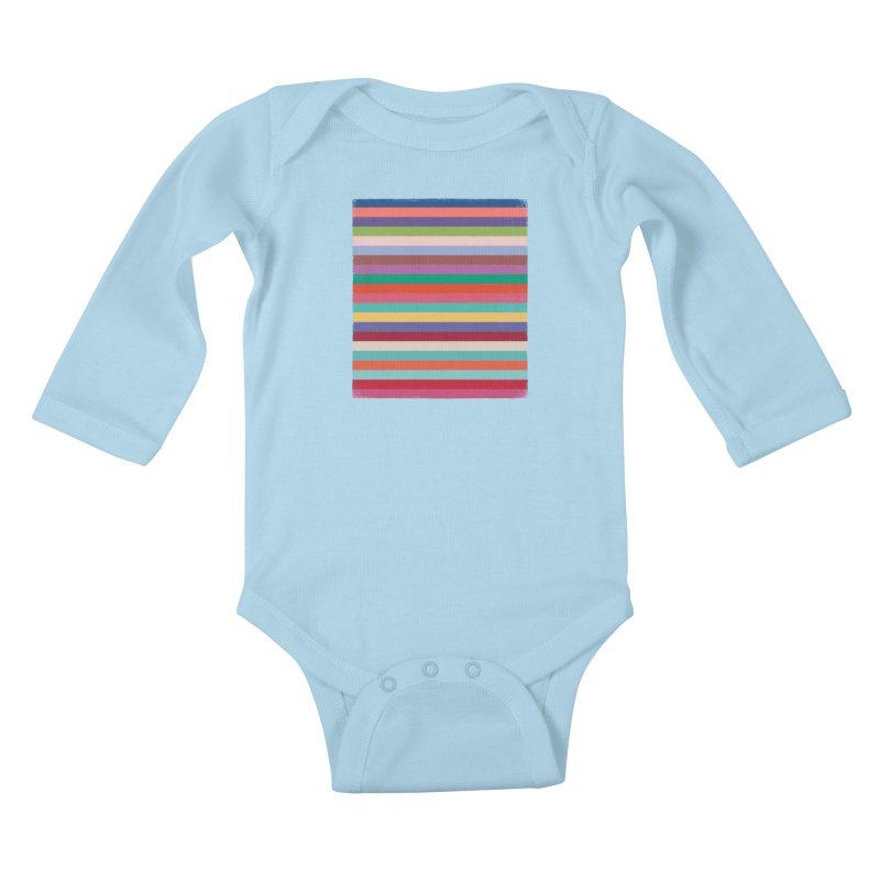 Pantonelogy 2020 Kids Baby Longsleeve Bodysuit by bulo