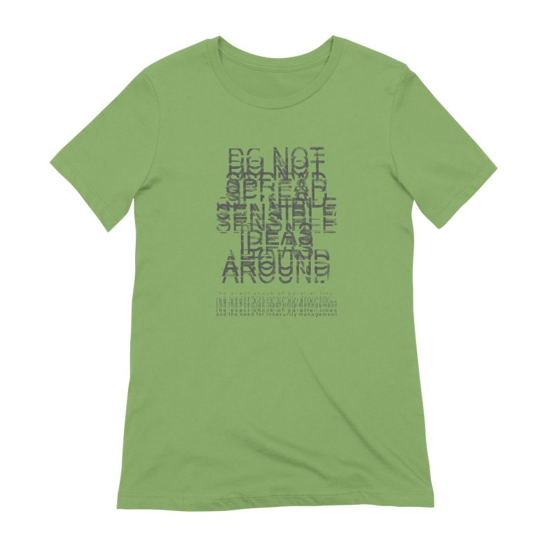 Extreme Fake Meaning Anxiety Women's Extra Soft T-Shirt by bulo