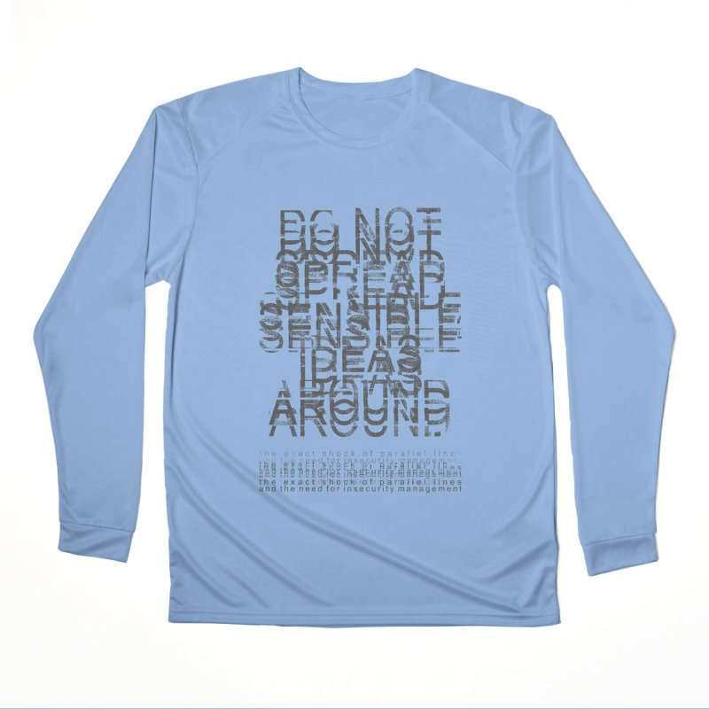 Extreme Fake Meaning Anxiety Women's Performance Unisex Longsleeve T-Shirt by bulo