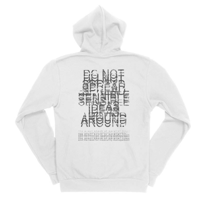 Extreme Fake Meaning Anxiety Men's Sponge Fleece Zip-Up Hoody by bulo