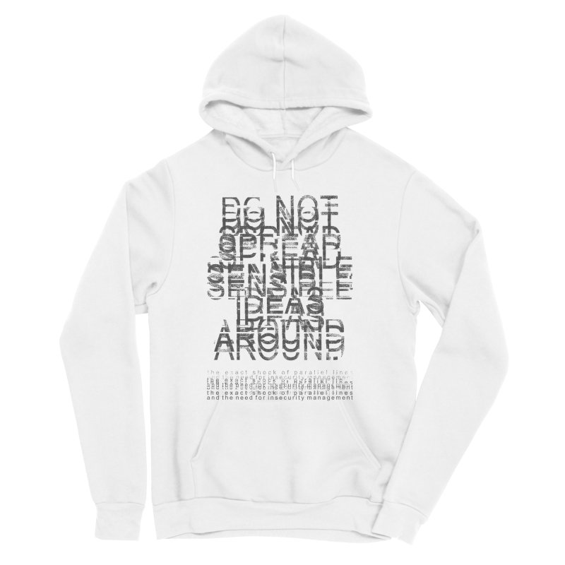 Extreme Fake Meaning Anxiety Men's Sponge Fleece Pullover Hoody by bulo