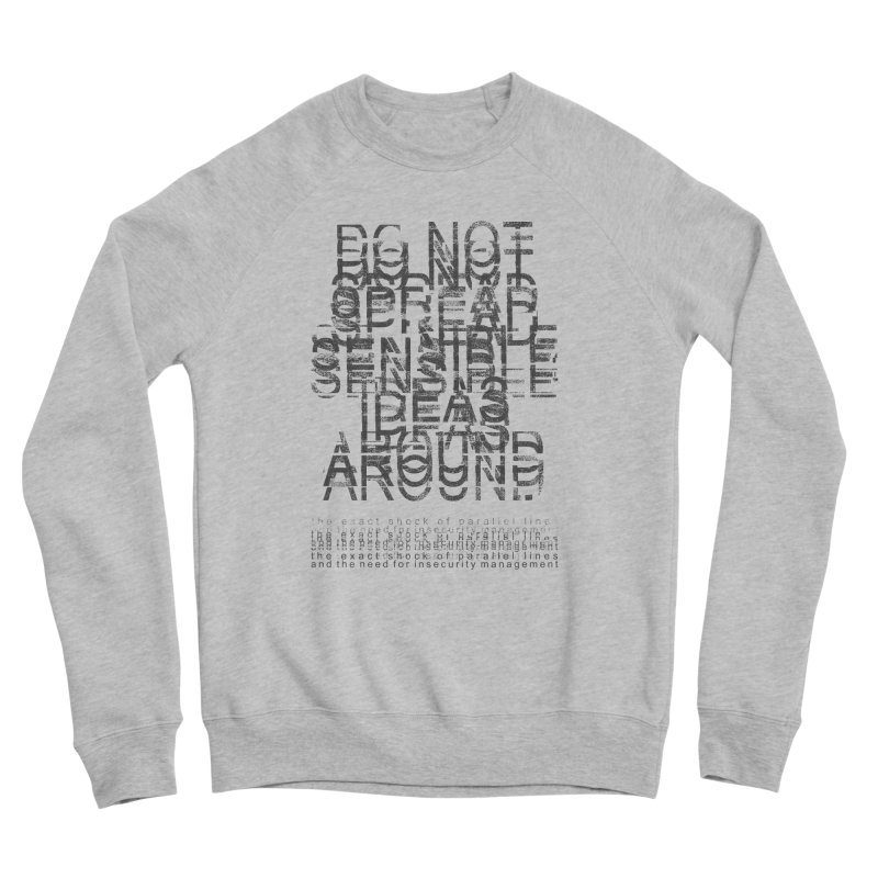 Extreme Fake Meaning Anxiety Men's Sponge Fleece Sweatshirt by bulo