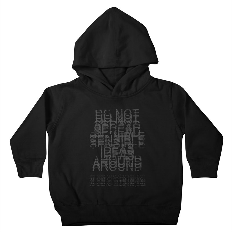 Extreme Fake Meaning Anxiety Kids Toddler Pullover Hoody by bulo