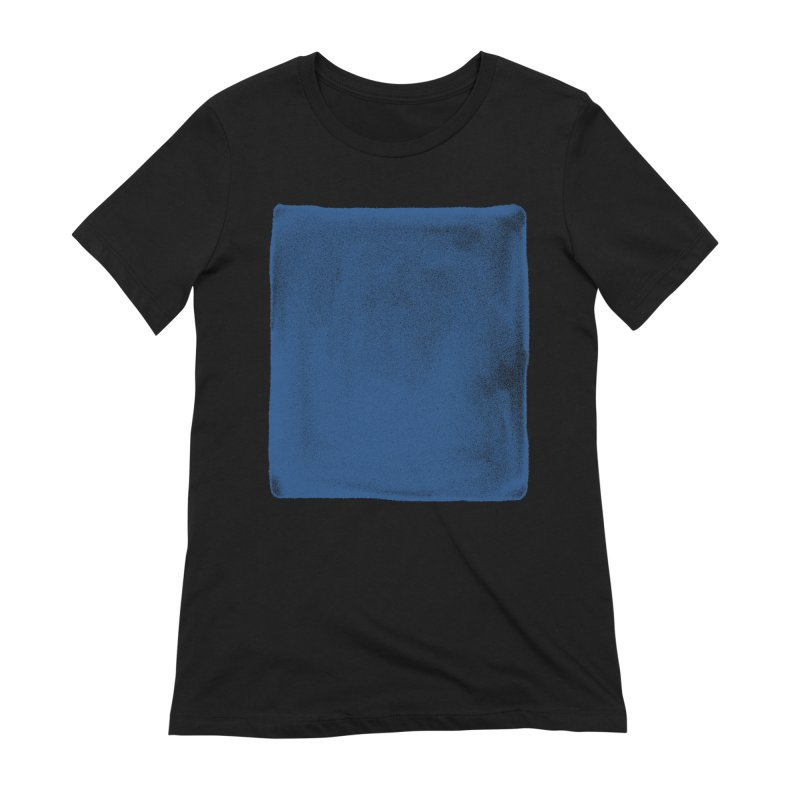 Pure Blue Women's Extra Soft T-Shirt by bulo