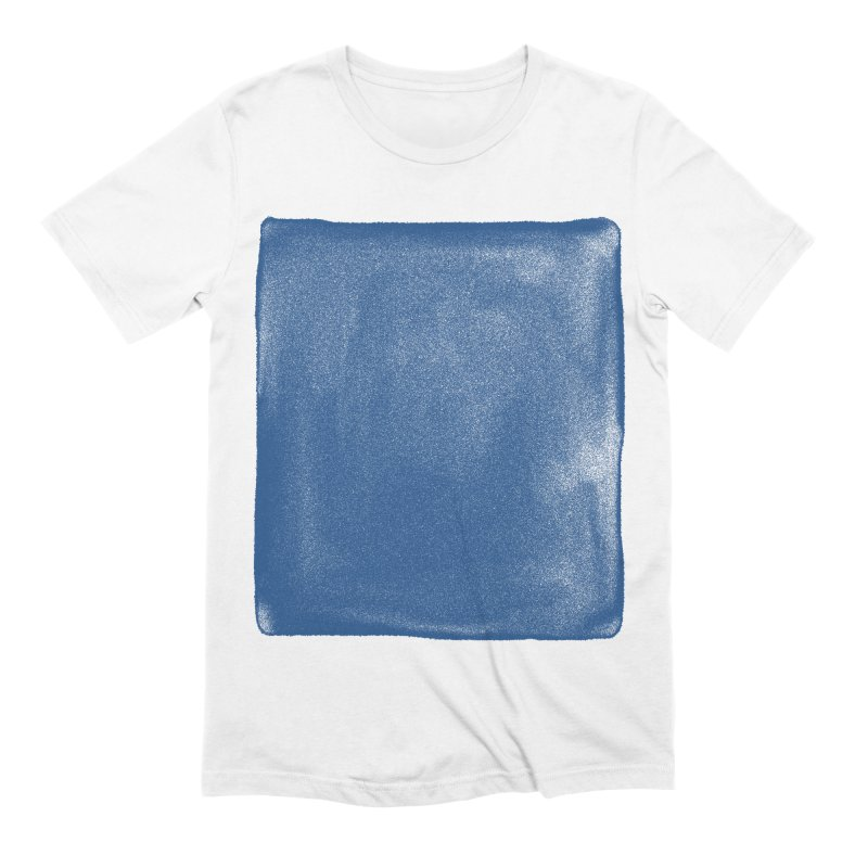 Pure Blue Men's Extra Soft T-Shirt by bulo
