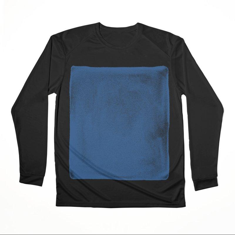 Pure Blue Women's Performance Unisex Longsleeve T-Shirt by bulo