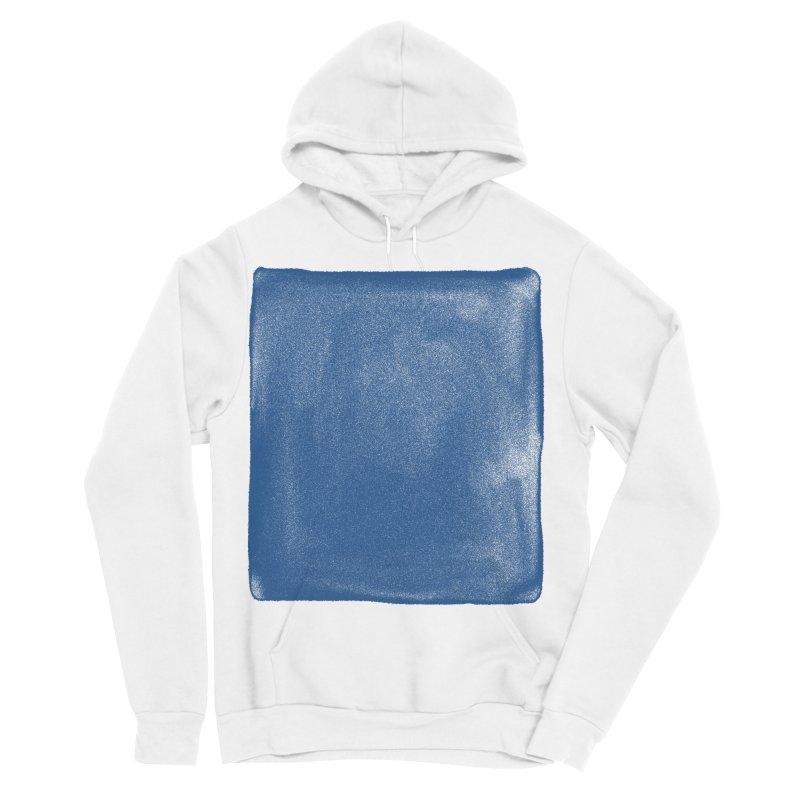 Pure Blue Men's Sponge Fleece Pullover Hoody by bulo