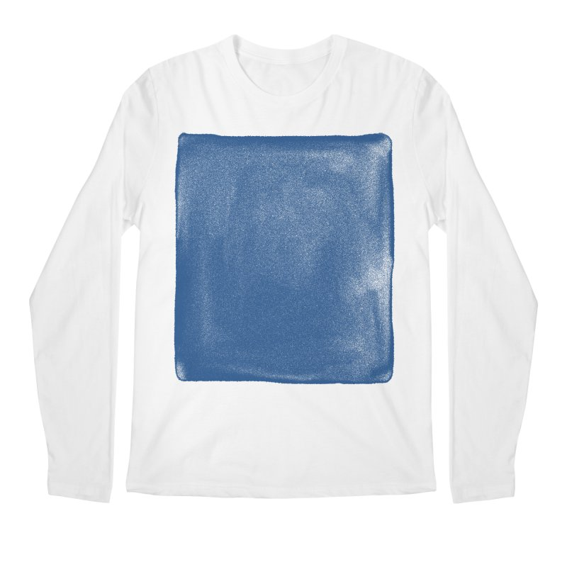 Pure Blue Men's Regular Longsleeve T-Shirt by bulo