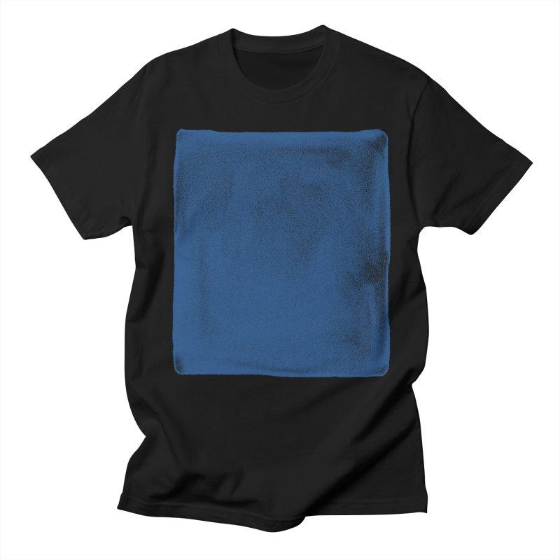 Pure Blue Men's Regular T-Shirt by bulo