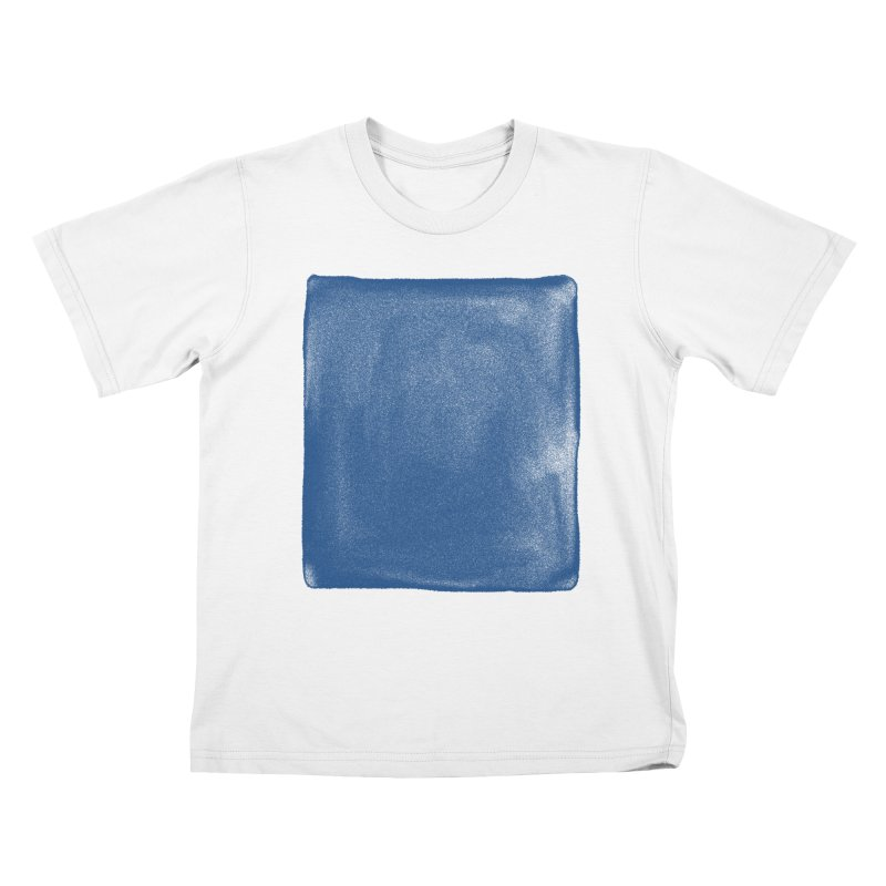 Pure Blue Kids T-Shirt by bulo