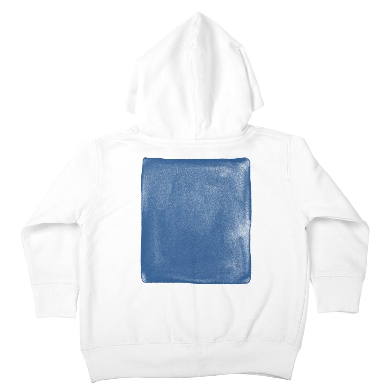 Pure Blue Kids Toddler Zip-Up Hoody by bulo