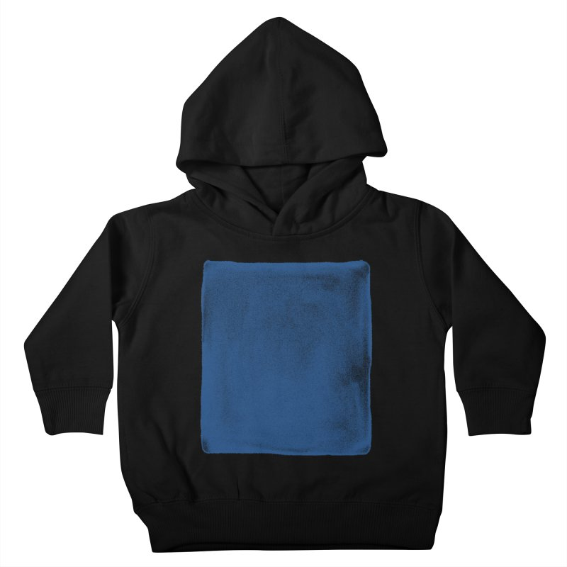 Pure Blue Kids Toddler Pullover Hoody by bulo
