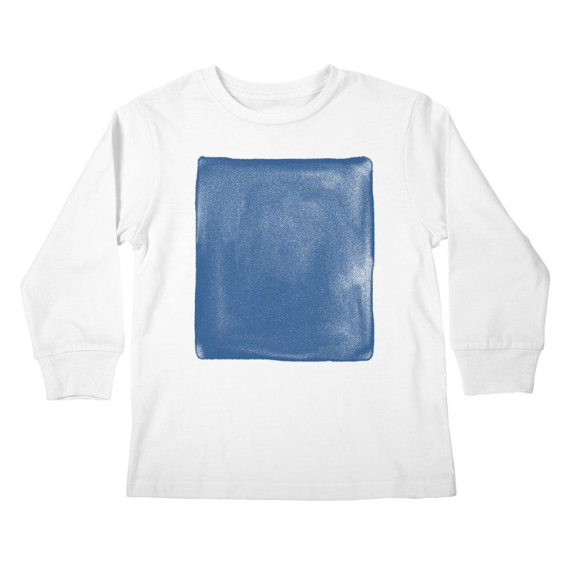 Pure Blue Kids Longsleeve T-Shirt by bulo