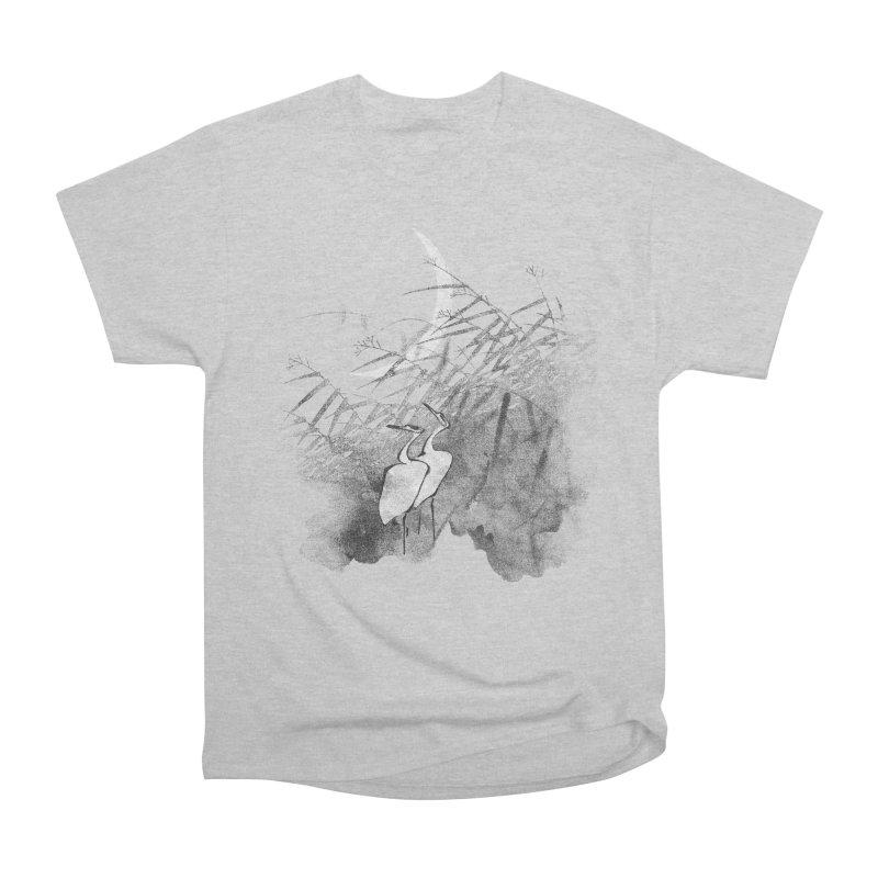 Romance In The Moonlight Women's Heavyweight Unisex T-Shirt by bulo