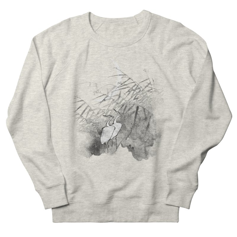 Romance In The Moonlight Women's French Terry Sweatshirt by bulo