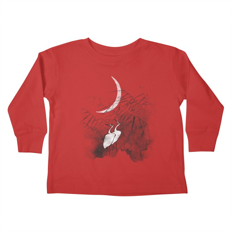 Romance In The Moonlight Kids Toddler Longsleeve T-Shirt by bulo