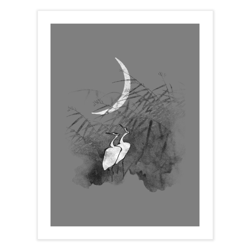 Romance In The Moonlight Home Fine Art Print by bulo