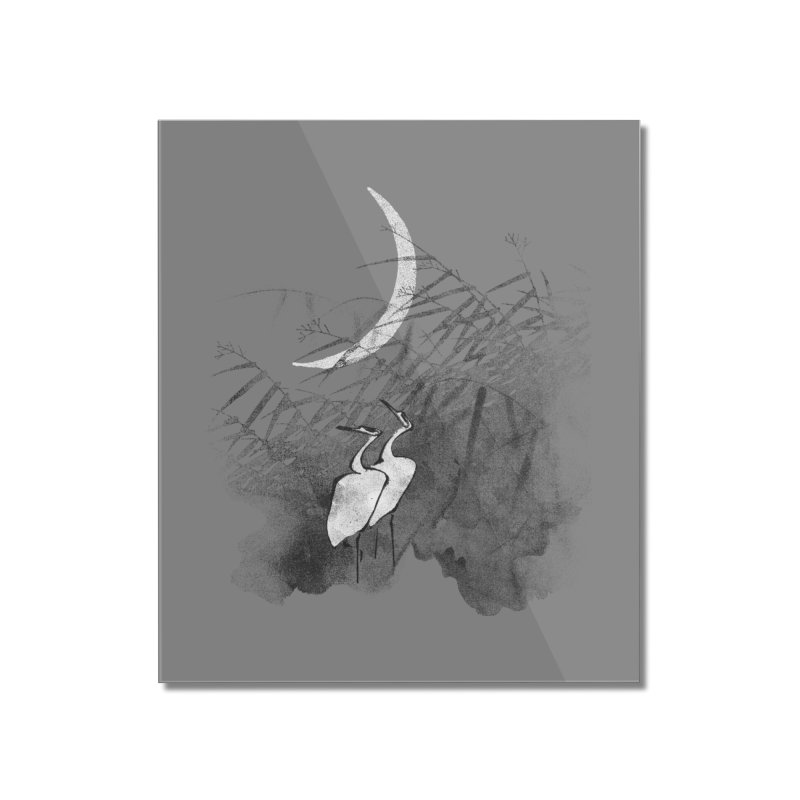 Romance In The Moonlight Home Mounted Acrylic Print by bulo