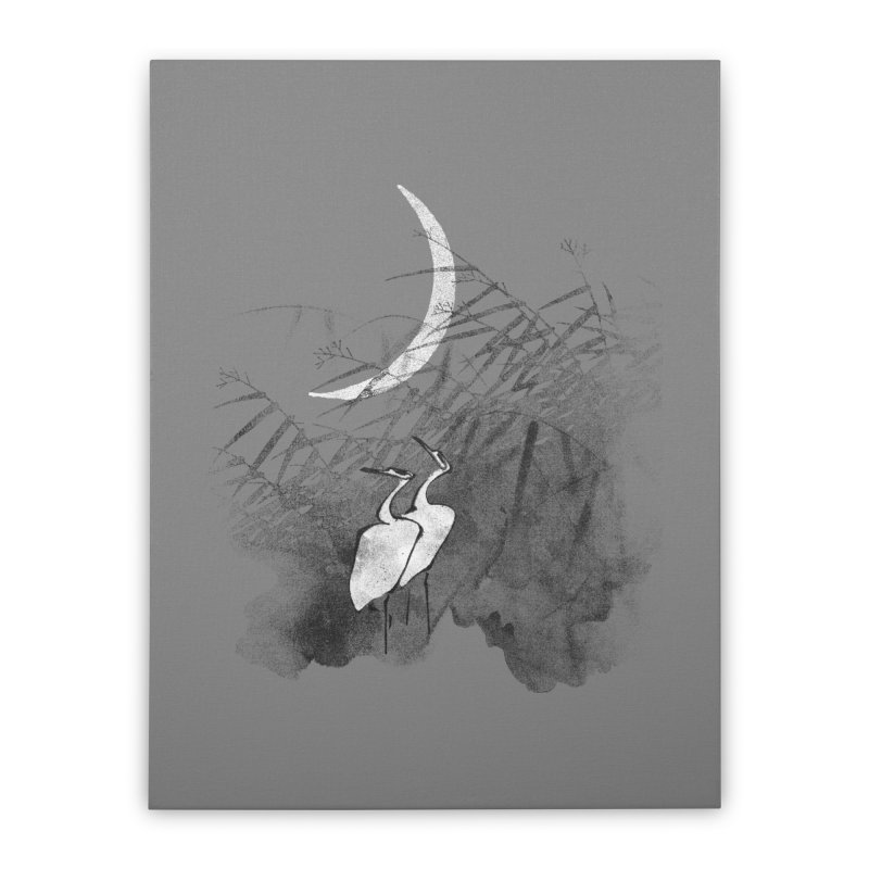 Romance In The Moonlight Home Stretched Canvas by bulo