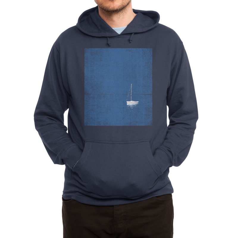 Pure Blue Men's Pullover Hoody by bulo