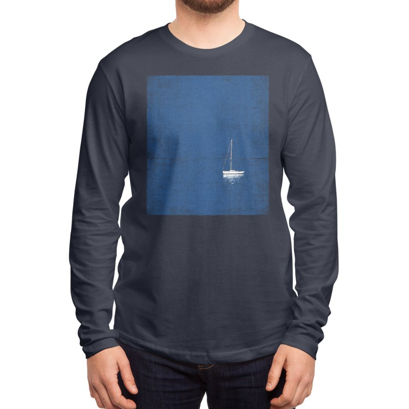 Pure Blue Men's Longsleeve T-Shirt by bulo