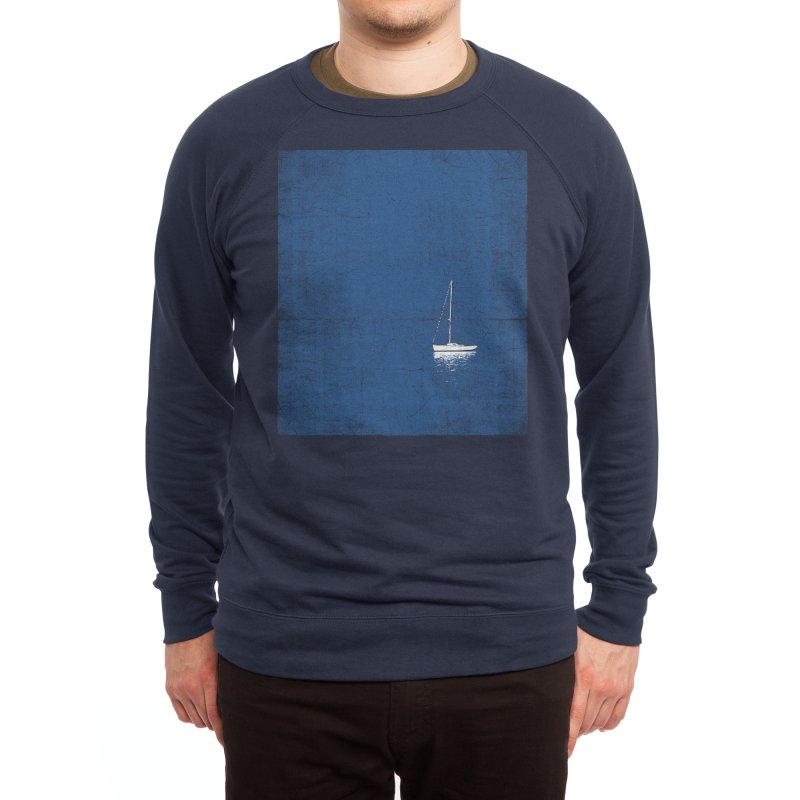 Pure Blue Men's Sweatshirt by bulo