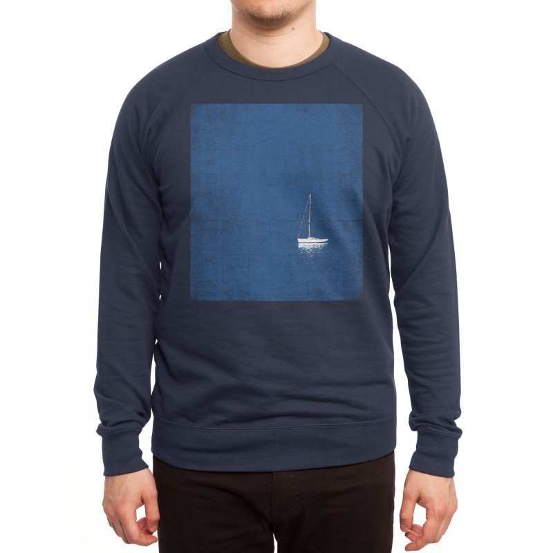 Pure Blue Men's Sweatshirt by bulo