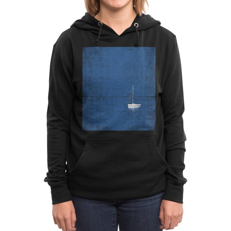 Pure Blue Women's Pullover Hoody by bulo
