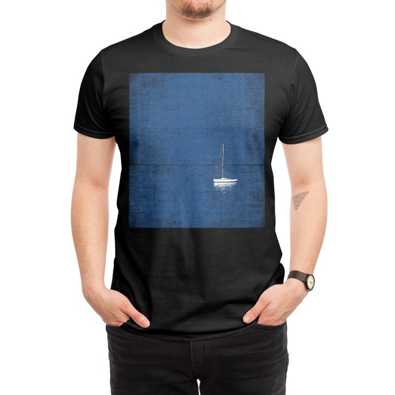 Pure Blue Men's T-Shirt by bulo