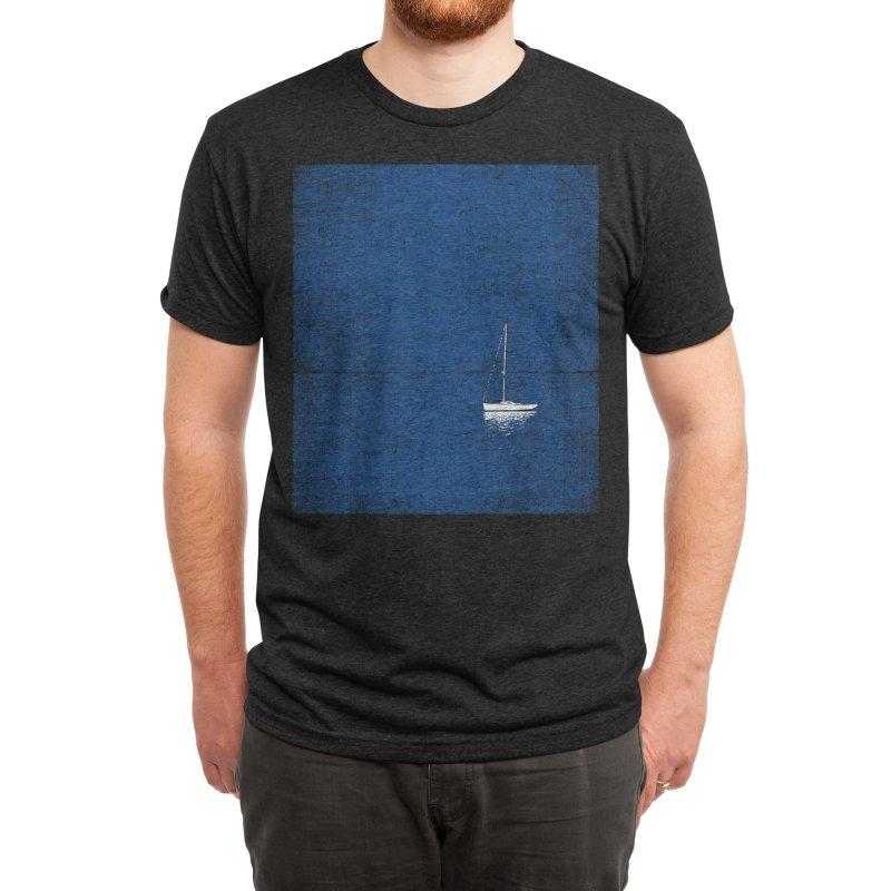 Pure Blue Men's T-Shirt by bulo