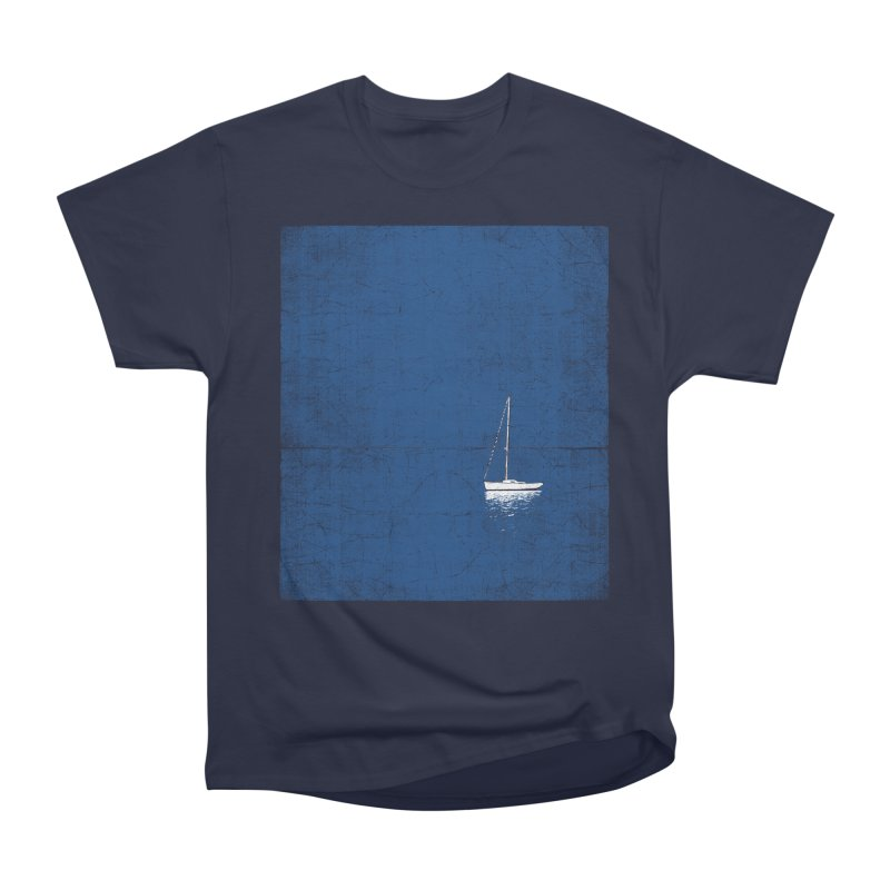 Pure Blue Men's Heavyweight T-Shirt by bulo