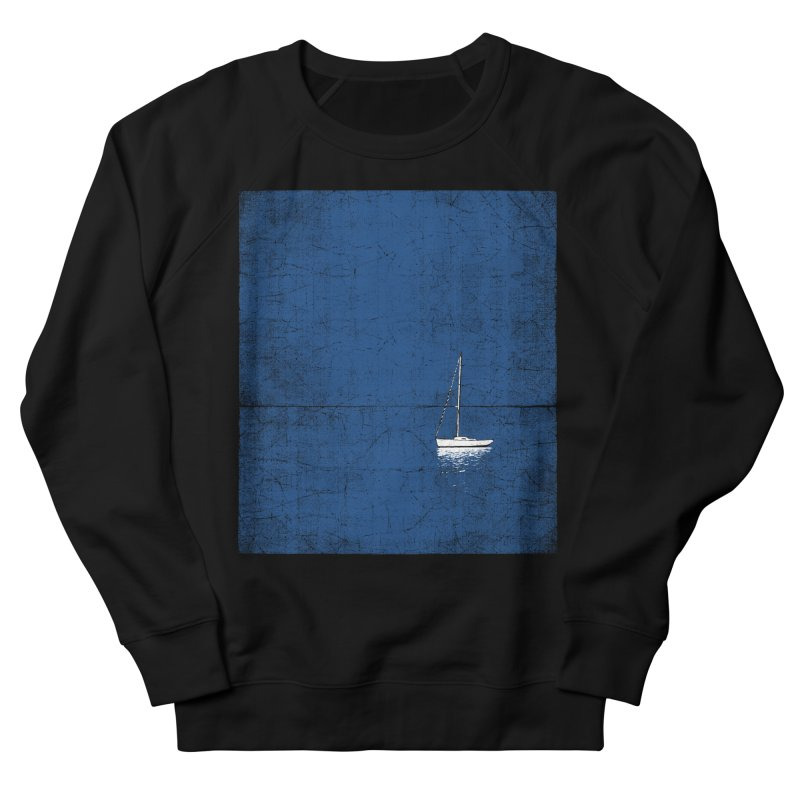 Pure Blue Women's French Terry Sweatshirt by bulo