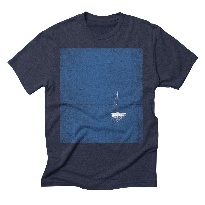 Pure Blue Men's Triblend T-Shirt by bulo