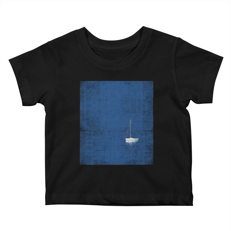 Pure Blue Kids Baby T-Shirt by bulo
