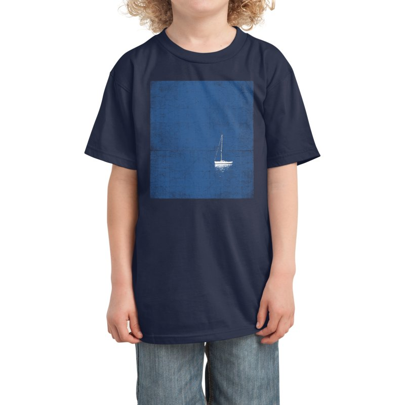 Pure Blue Kids T-Shirt by bulo
