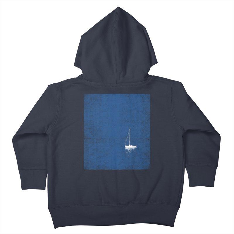 Pure Blue Kids Toddler Zip-Up Hoody by bulo