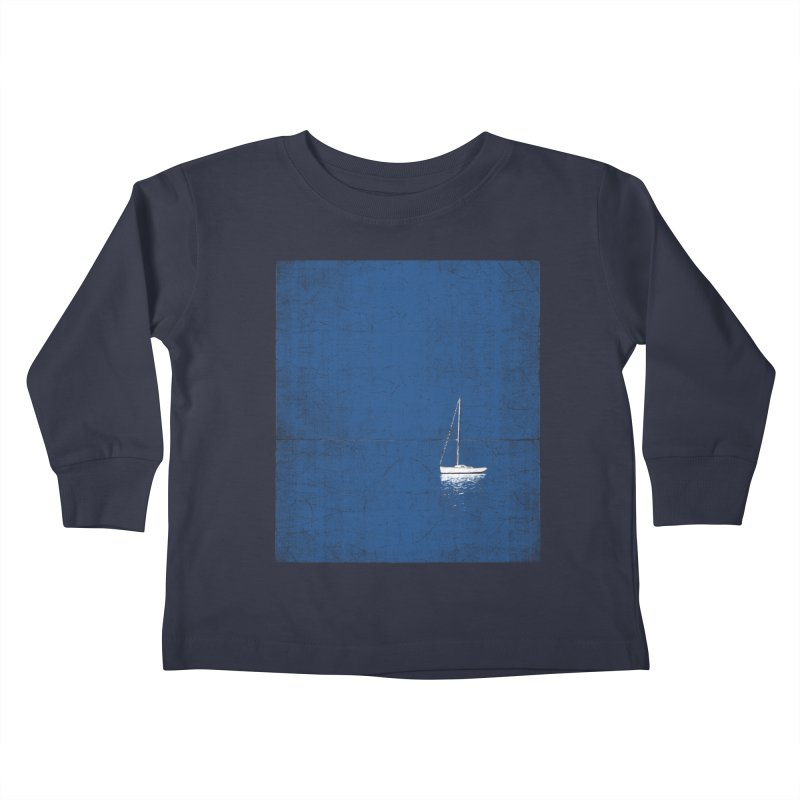 Pure Blue Kids Toddler Longsleeve T-Shirt by bulo