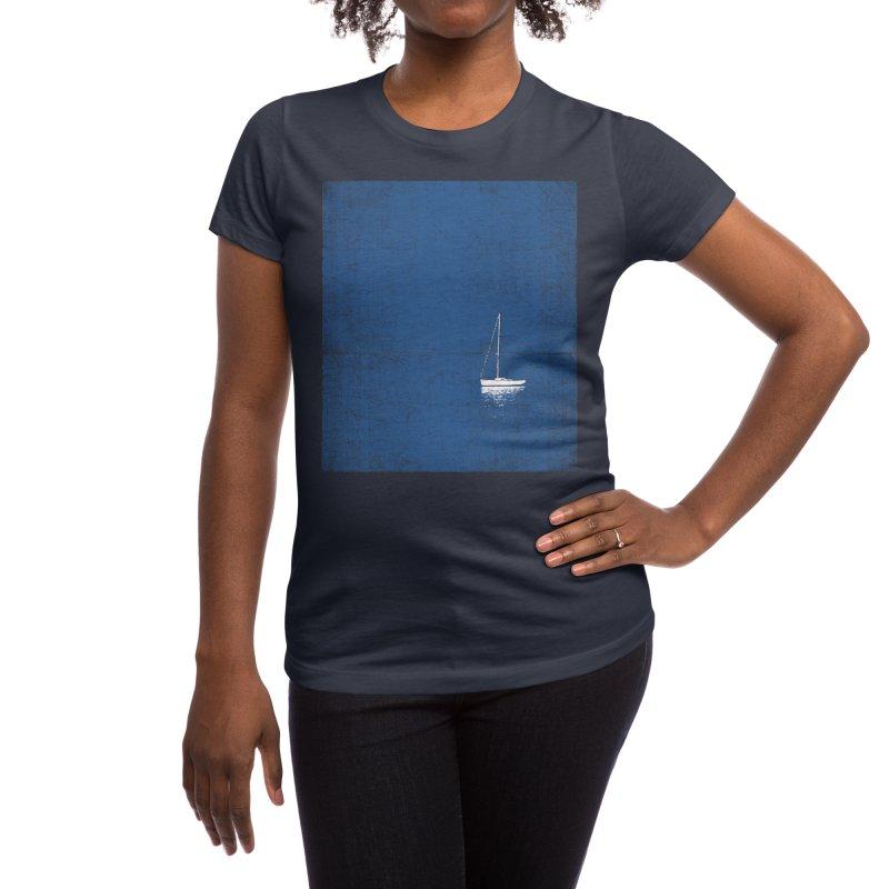 Pure Blue Women's T-Shirt by bulo