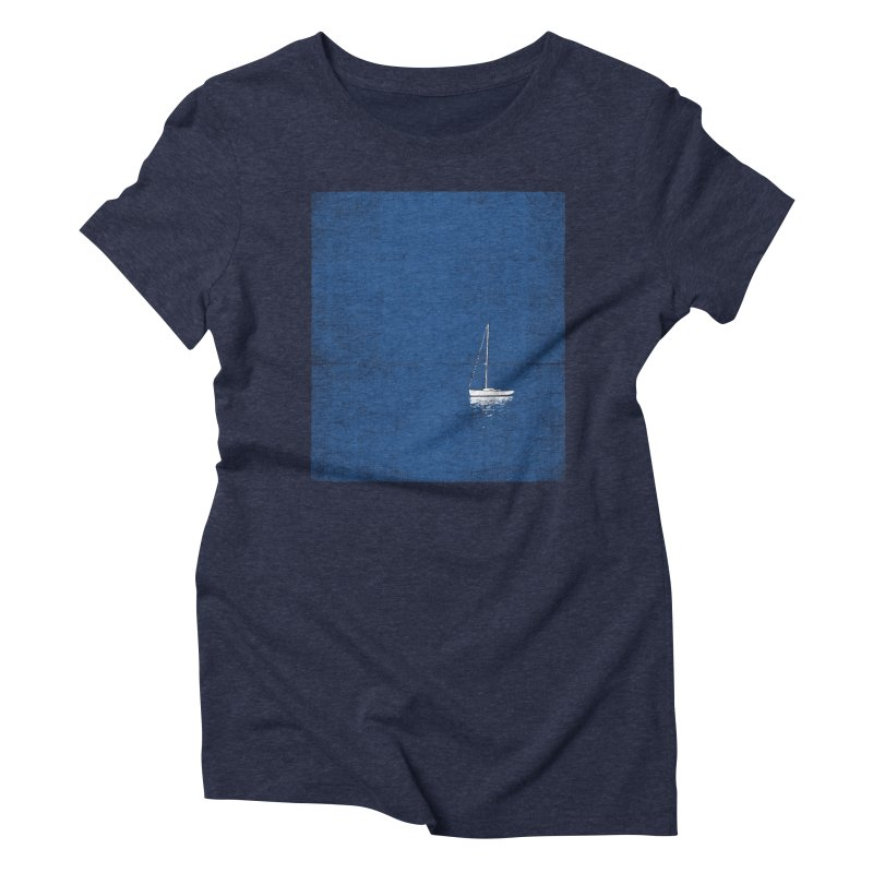 Pure Blue Women's Triblend T-Shirt by bulo