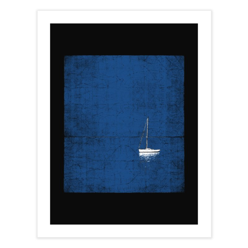 Pure Blue Home Fine Art Print by bulo