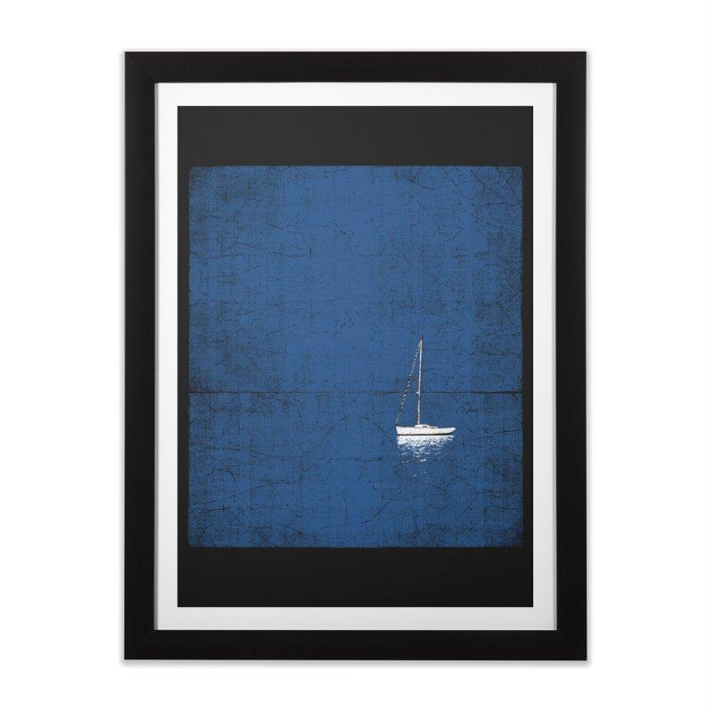 Pure Blue Home Framed Fine Art Print by bulo