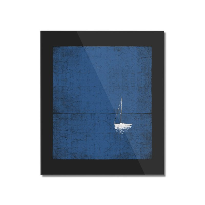 Pure Blue Home Mounted Acrylic Print by bulo